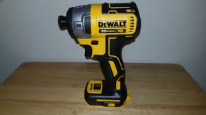 Dewalt 20 V max XR brushless 1/4 in three‑speed impact driver brand new (tool only) for Sale in Chula Vista, CA