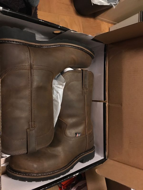 Justin's Workboots Steel Toe size 11D Style:WK4961