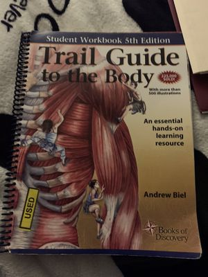 Trail guide to the body college workbook 5th edition for Sale in Windsor Locks, CT