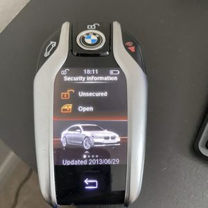 BMW SMART KEY TOUCH SCREEN REMOTE 7 SERIES GENUINE OEM FOB for Sale in Orlando, FL