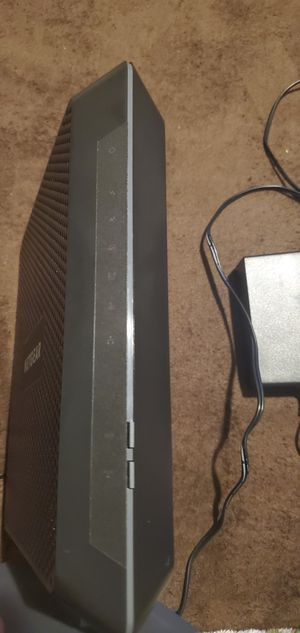 NETGEAR - Nighthawk Dual-Band AC1900 Router with 24 x 8 DOCSIS 3.0 Cable Modem for Sale in Mesquite, TX