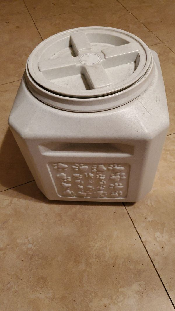 Large Dog treat storage Container