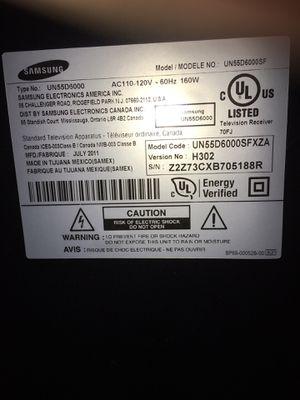 "Samsung ""smart"" tv 55 inch for Sale in Sumner, WA"