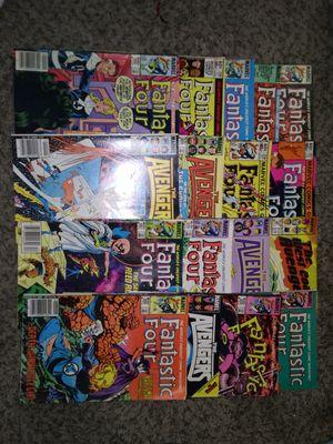 Lot of 17 Vintage Marvel Comic Books Avengers Fantastic Four for Sale in Reedley, CA