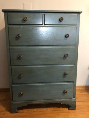 Blue/teal vintage dresser for Sale in Oakland, CA