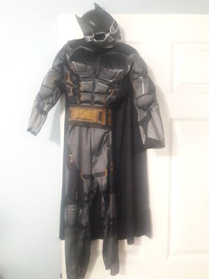 Batman costume size child Small with cape, belt and mask for Sale in Coconut Creek, FL