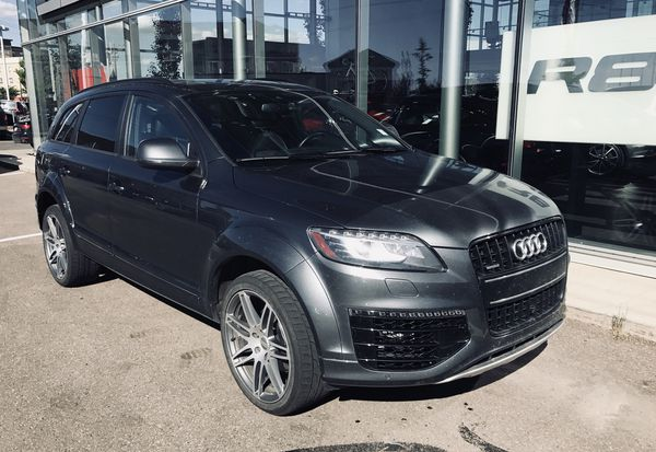 """Audi Q7 21"""" S-Line OEM Wheels with Dunlop SP Sport Maxx Tires 295/35r21 for  Sale in Kent, WA - OfferUp"""