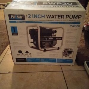 "2"" Semi-trash Water Pump for Sale in Fontana, CA"