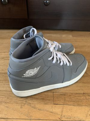 Jordan 1 retro mid cool grey size 9.5 for Sale in Los Angeles, CA