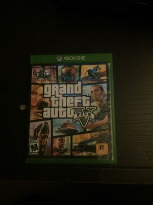 Grand Theft Auto 5 for Xbox one for Sale in Oceanside, CA