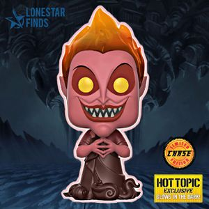 Funko POP! Disney Hercules Hades Hot Topic Exclusive Red Glow Chase Figure #381! for Sale in Universal City, TX
