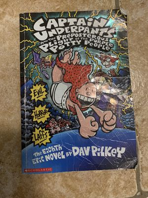 Captain Underpants Books for Sale in Kissimmee, FL