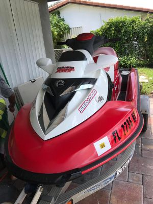 2008 Sea doo rxt 215 supercharged for Sale in Pompano Beach, FL