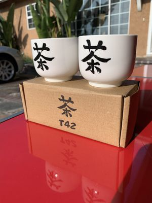 Chinese tea cups (10$ per box or 2 boxes for 15$) for Sale in Lakewood, CA