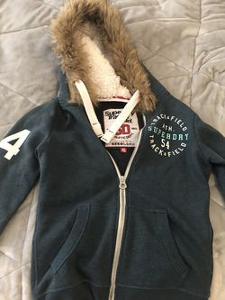 Superdry Hoodie Size Small Warm for Sale in Queens,  NY