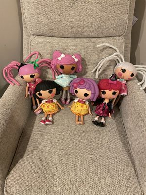 Lalaloopsy dolls set of 6 for Sale in West Sacramento, CA