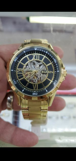 ELGIN AUTOMATIC SKELETON WATCH for Sale in Queens, NY