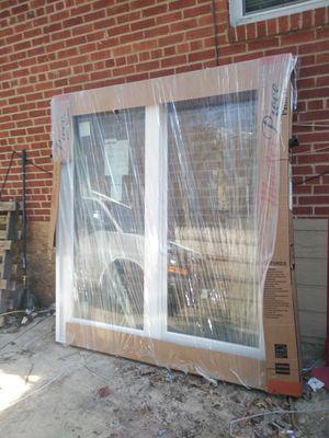 72X80 slider door right hand new price is firm for Sale in Alexandria, VA