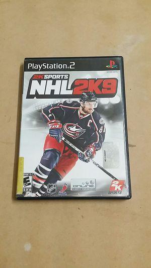 NHL 2k9, PS2 for Sale in El Cajon, CA