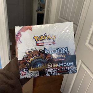 Pokemon Sun and Moon Crimson Invasion Booster Box for Sale in Clovis, CA