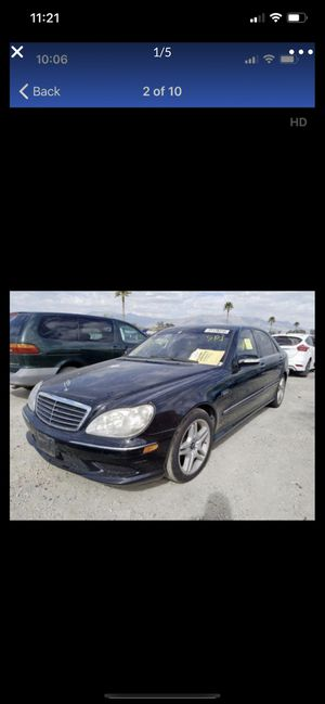 Mercedes Benz S430 S500 S55 S600 S class ** AMG ** SPORT ** PARTING OUT ** W220 ** for Sale in Rancho Cordova, CA