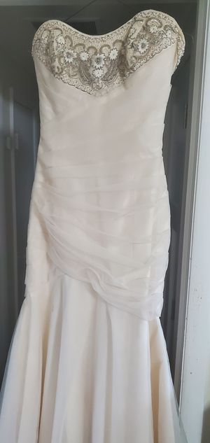 Wedding Dress - Priscilla of Boston for Sale in Alexandria, VA