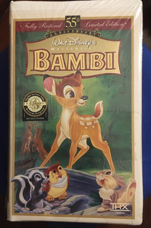 Bambi VHS for Sale in Cincinnati, OH