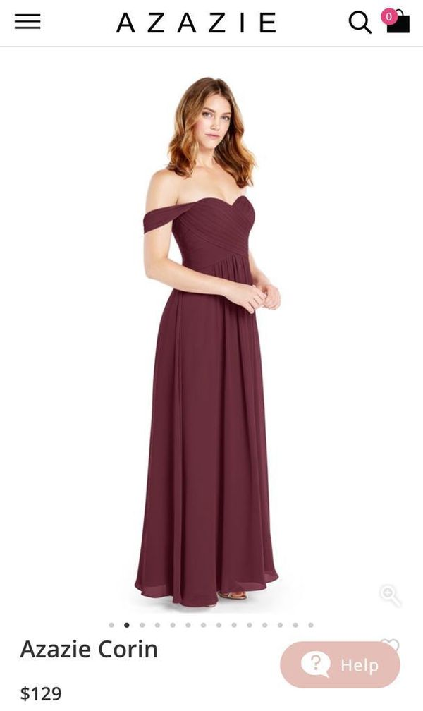 bcb6109882 Azazie Corin burgundy gown for Sale in Miami
