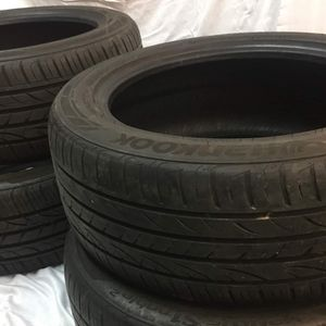 225 50 17 (4) Hankook Ventus S1 Noble2 Tires for Sale in Denver, PA