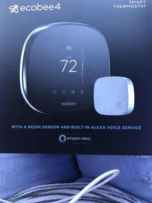 Ecobee4 smart thermostat for Sale in Houston, TX