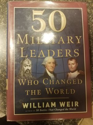 50 Military Leaders who Changed the World for Sale in Providence, RI