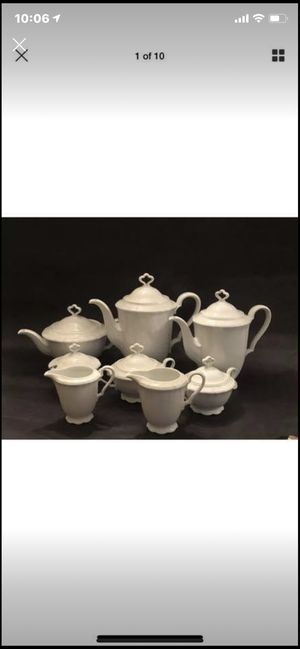 Marie Luise Bayr. Ostmark White China Set for Sale in Chevy Chase, MD