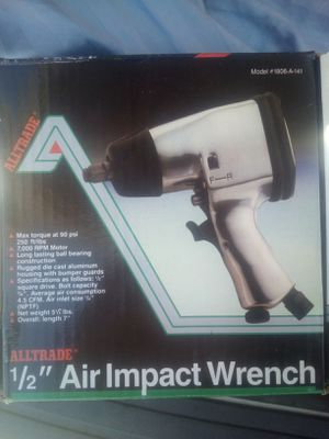 """Brand New 1/2"""" Air Impact Wrench Driver for Sale in Rancho Cucamonga, CA"""