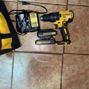 Dewalt Drill 2 20v Batterys And Charger for Sale in Los Angeles, CA