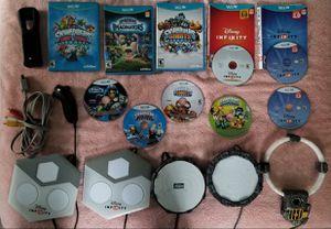 Nintendo Wii U Skylanders + Disney Infinity Lot for Sale in Shelton, CT