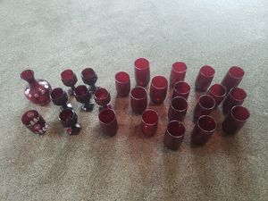 Ruby glass collection for Sale in Joliet, IL