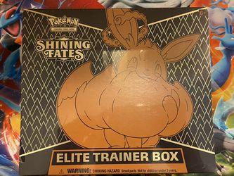 Pokemon Shining Fates Elite Trainer Box Sealed New for Sale in Redmond,  WA