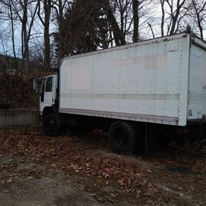 2005 Ford Sterling Automatic Diesel Cab With 30 Foot Detachable Trailer 120000 Miles Air Brakes Air Lift No Dings No Dents for Sale in Smithfield, RI