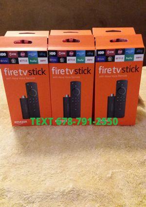 3rd Gen Amazon Fire TV stick / Loaded for Sale in Conley, GA
