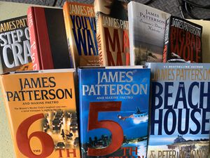 James Patterson books selling for $5 each. for Sale in Antioch, CA
