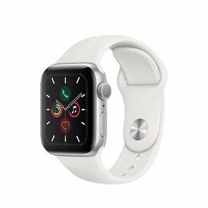 Refurbished Apple Watch Gen 5 Series 5 40mm Silver Aluminum - White Sport Band for Sale in Vero Beach, FL