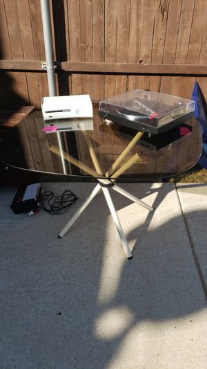 Glass table for kitchen for Sale in Frisco, TX