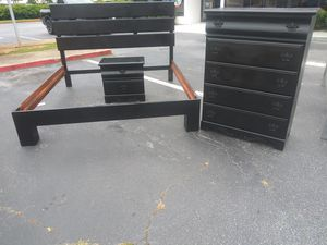 King Black Bedroom Set for Sale in Riverdale, GA