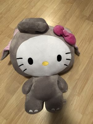 20 inch hello kitty with elephant costume stuffed animal for Sale in San Jose, CA