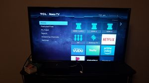 Tcl Tv built in Roku for Sale in Shelbyville, IL