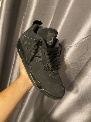 """Size 12 Jordan 4 """"Black Cat"""" for Sale in Raleigh, NC"""