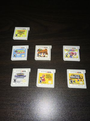 Old 3ds games for Sale in Pittsburg, CA