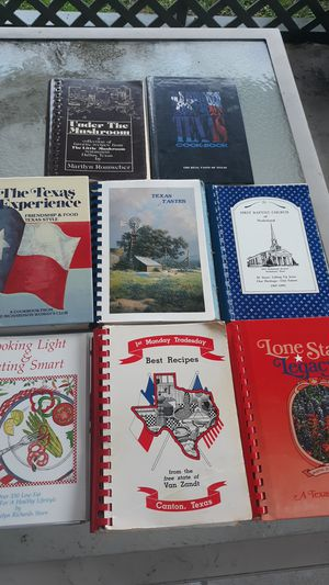 Texas cookbooks for Sale in Port Neches, TX