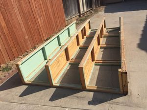 Garage storage cabinet with doors free must come and pick up in good condition for Sale in San Bernardino, CA