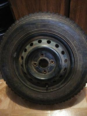 2 Snow tires ,llantas para nieve 185-70-R14 for Sale in Portland, OR